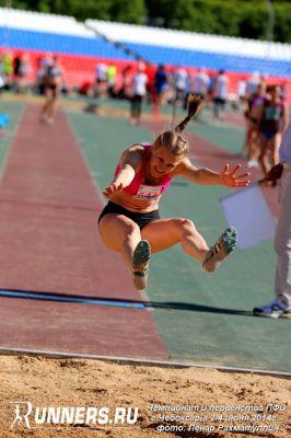 Анна Рябова: Люблю считать и прыгать