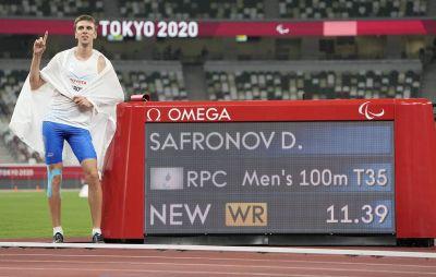 Дмитрий Сафронов – чемпион Паралимпиады