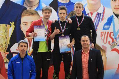 Егор Васильев – серебряный призёр первенства страны