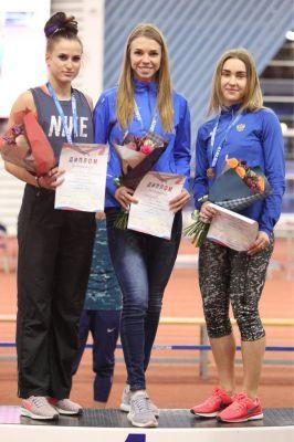 Марина Максимова – победительница первенства страны