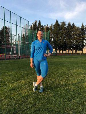 Надежда Деркач – победительница первенства страны
