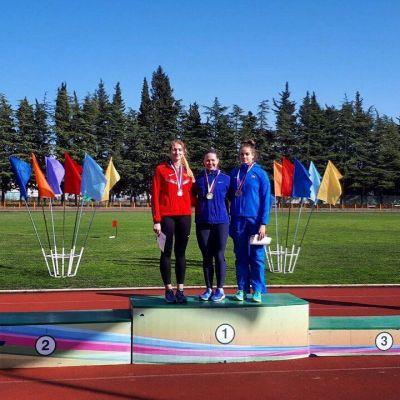 Три медали из Адлера