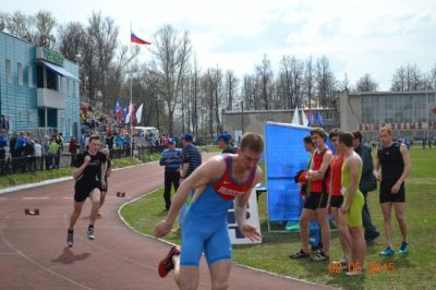 В Павлово, на первый этап Гран-при