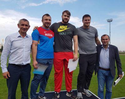 В подмосковном Ерино прошёл Кубок России по лёгкой атлетике.