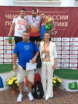 Валерий Пронкин – чемпион страны