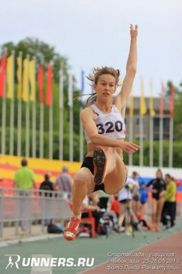 Валя Долинина: «Мечтаю прыгать за 6 метров».