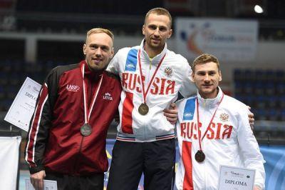 Владислав Князев — бронзовый призёр чемпионата Европы